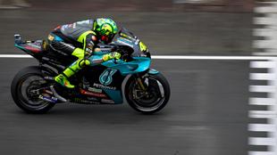 Rossi, en Le Mans.