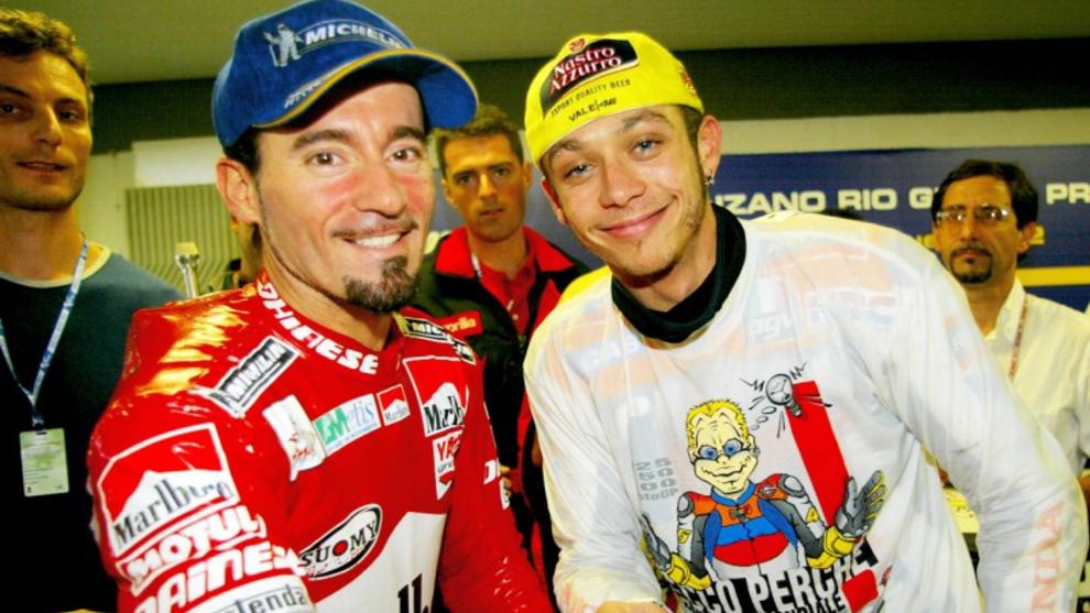 Biaggi y Rossi.