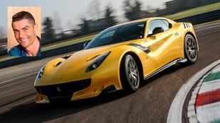 Su Ferrari F12 Tour de France está valorado en cerca de un millón de...