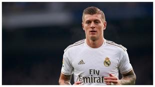 Kroos, durante un partido de esta temporada.