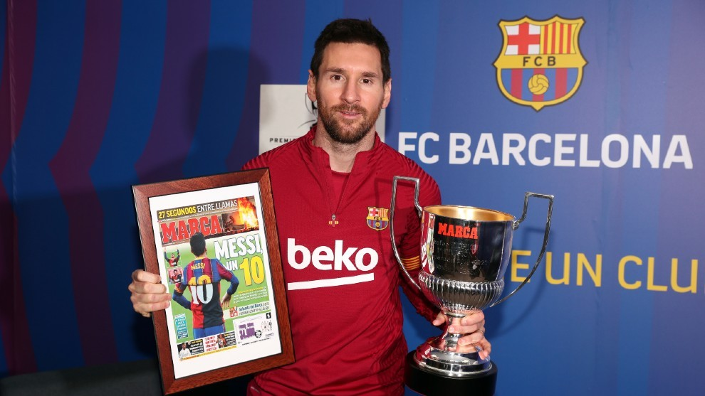 Messi: Pichichi de Pichichis
