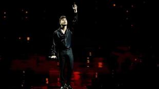 """Blas Cantó, a lo Raphael en Eurovisión: """"Lo pensé cuando me vi..."""