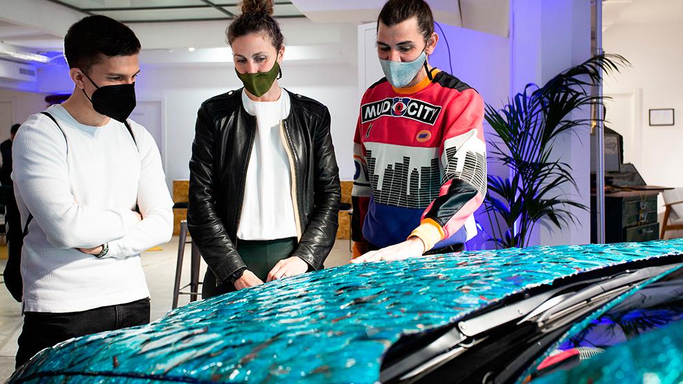 'Jardín Zen' gana el premio Art Car de Lexus, una llamada de la tecnología al arte