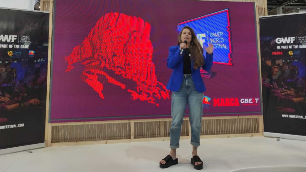 María José Acto - Directora de marketing y comunicación GWF