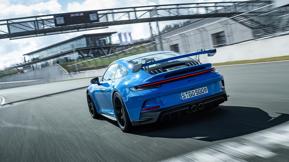 Porsche 911 GT3 992 prueba - coches deportivos