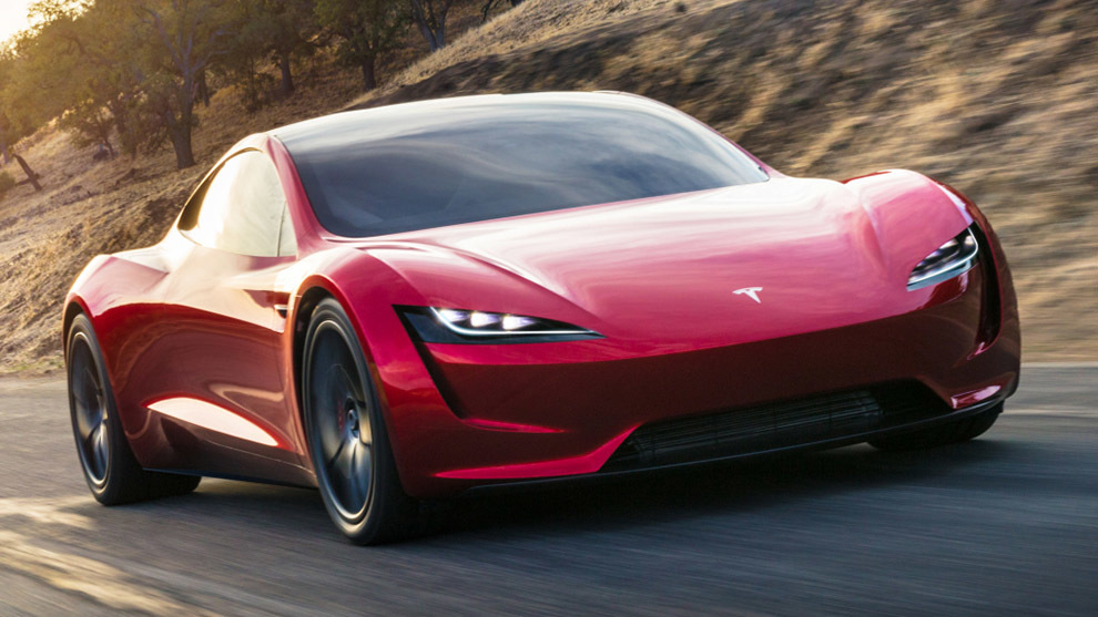 Tesla - Tesla Roadster - SpaceX Package - aceleración - 1,1 segundos...