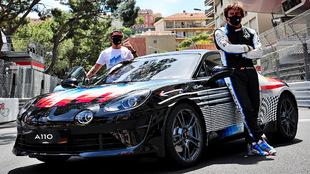 Fernando Alonso - Alpine A110 X Felipe Pantone - Gran Premio de...