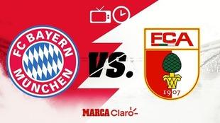 Bayern Munich vs Augsburgo: Horario y dónde ver