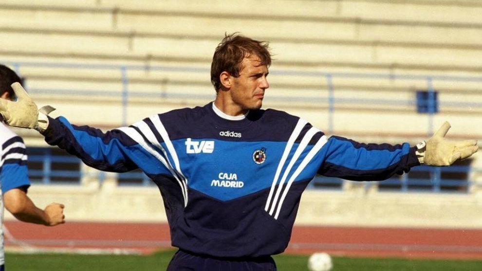 Arnau, en su etapa con la selección sub 21