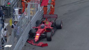 Leclerc, estrellado junto a la Piscina en la clasificación de...