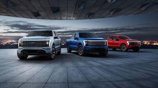 La Ford F-150 Lightning, Ford F-Series, F-150, pick up, electric cars,...