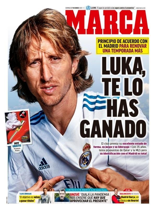 Con Modric no hay problema: Florentino Pérez renueva al croata hasta 2022 3