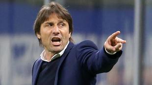 Antonio Conte podría dejar de ser entrenador del Inter de Milán...