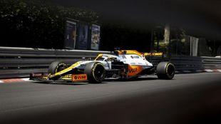 Daniel Ricciardo, en Mónaco.