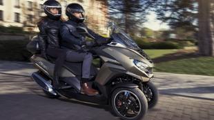 Imagen de la nueva Peugeot Metropolis SW.