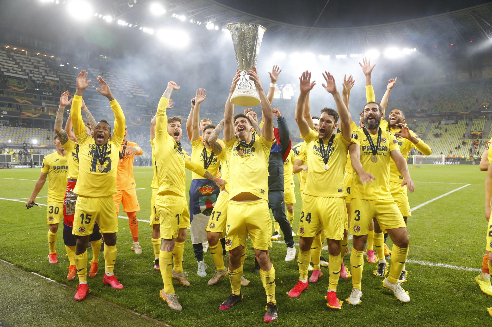 Villarreal win the 2021 Europa League