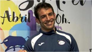 Diego Merino, entrenador del VRAC.