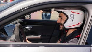 Karim Benzema - Real Madrid - Audi RS e-tron GT - Circuito del Jarama