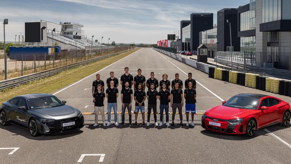 Real Madrid - Audi RS e-tron GT - Circuito del Jarama
