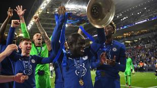 N'Golo Kante fue la figura del Chelsea en la final ante el...