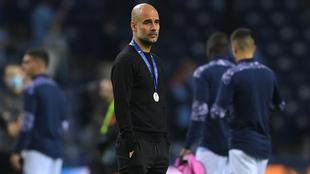 El técnico español no ocultó su tristeza por el subcampeonato.