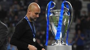 pep guardiola no puede ganar la champions con el city