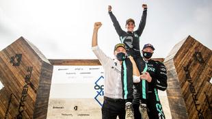 Extreme E - Ocean XPrix- final - Rosberg - Dakar - Kristofferson -...
