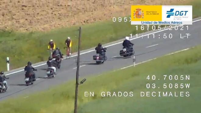 DGT - Trafico - Motoristas - Motos - Motocicletas - Multas - Adelantamiento - Conduccion temeraria
