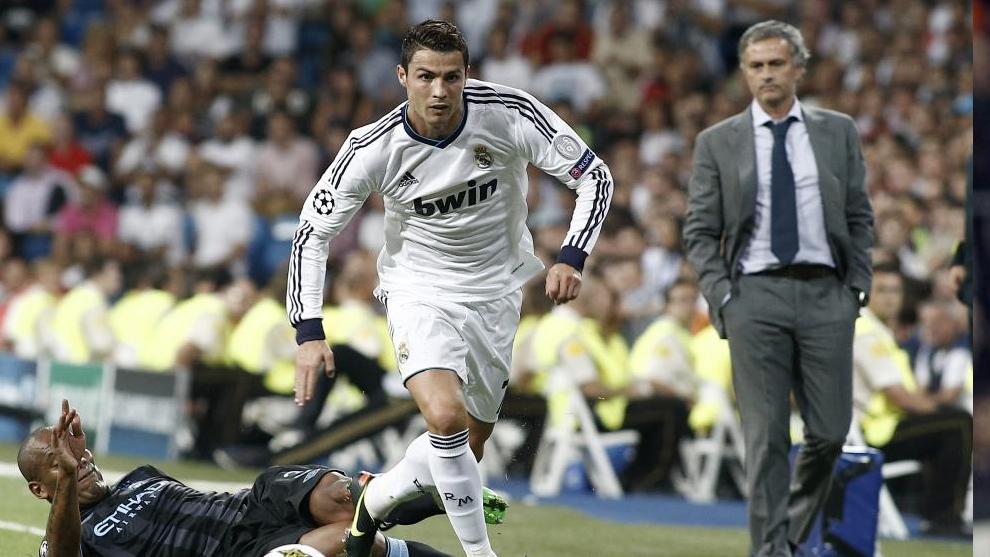 Cristiano y Mourinho, en su etapa del Real Madrid.