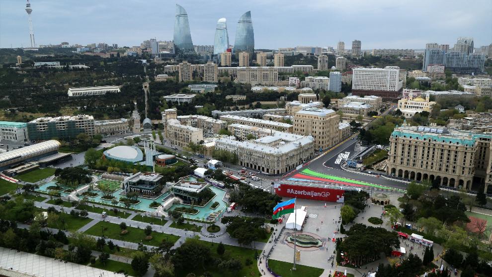 Una imagen de Bakú.