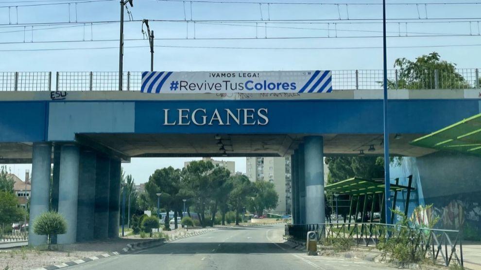Los colores del Lega ya se dejan ver por la ciudad madrileña