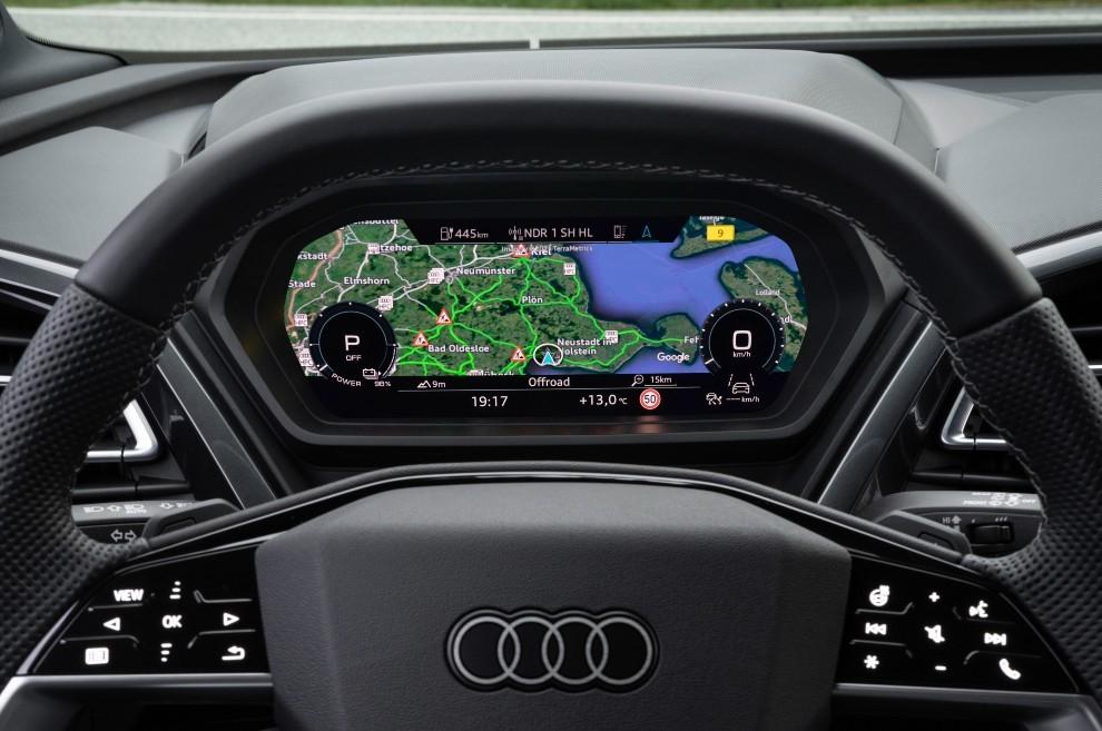 Audi Q4 e-tron - prueba - test drive - coches eléctricos - Sportback - virtual cockpit