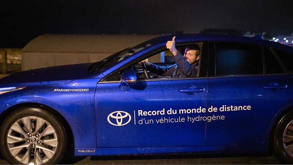 1.003 km: una odisea del Toyota Mirai con récord mundial a base de hidrógeno