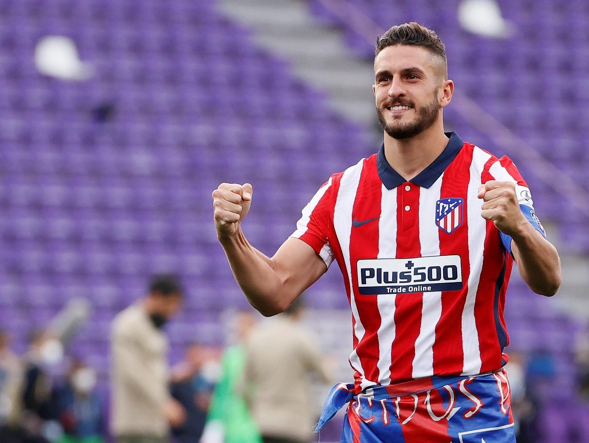 Koke (29) en uno de los últimos partidos del Atlético de Madrid esta temporada.