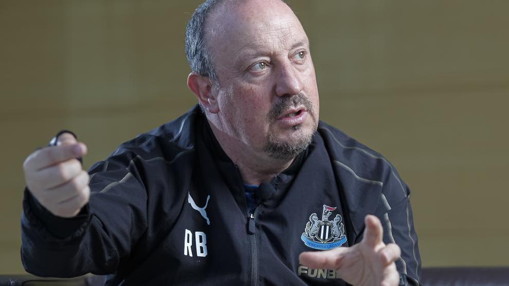 Rafa Benítez, en su etapa como manager del Newcastle.