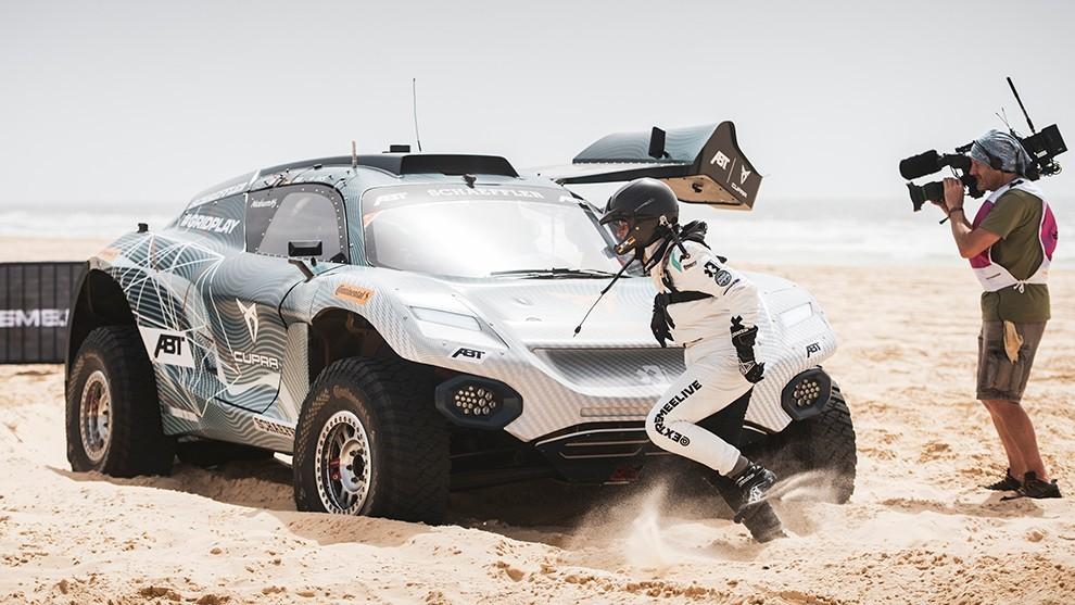 Jutta Kleinschmidt - Laia Sanz - Cristina Gutiérrez - Rally Dakar - Extreme E