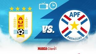 uruguay vs paraguay: horario y donde ver en vivo por tv