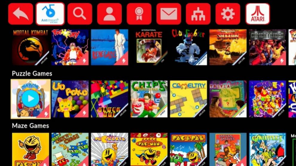Atari VCS tendrá catálogo en Antstream Arcade