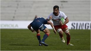 Un partido entre España y Francia.