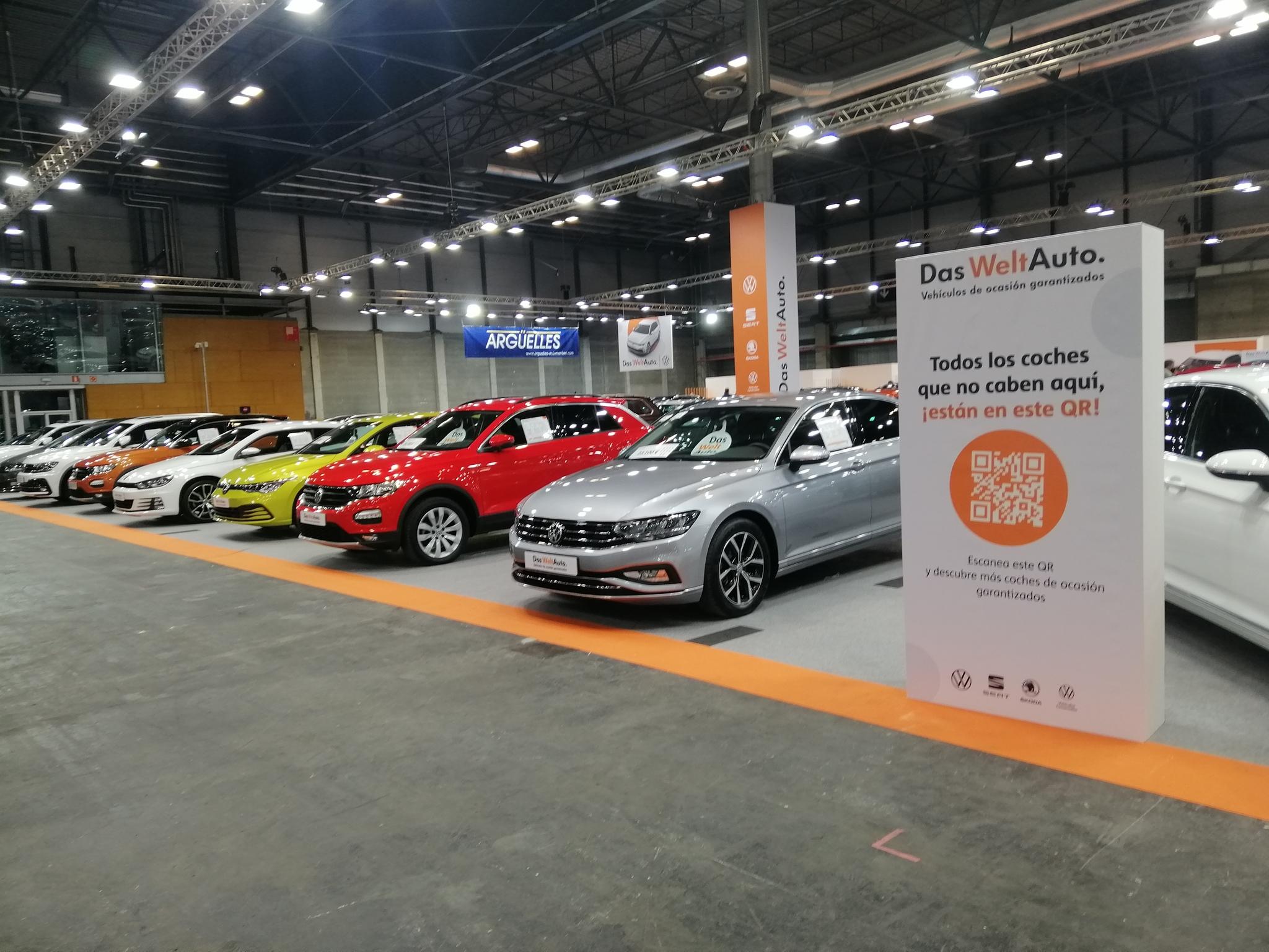 Das Welt Auto en el Salón del Vehículo de Ocasión de Ifema