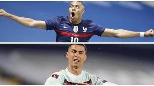 Mbappe and Cristiano Ronaldo