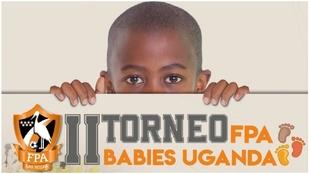 Cartel promocional de Segundo Torneo FPA Babies Uganda