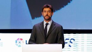 Andrea Agnelli (45), presidente de la Juventus de Turín.