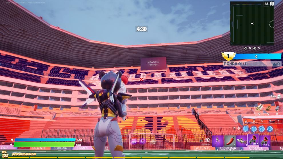 Azteca Fortnite Stadium