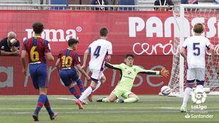 Pase de Guille que ve como su primo Toni marca el segundo gol del...