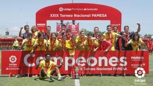 El Villarreal es campeón.