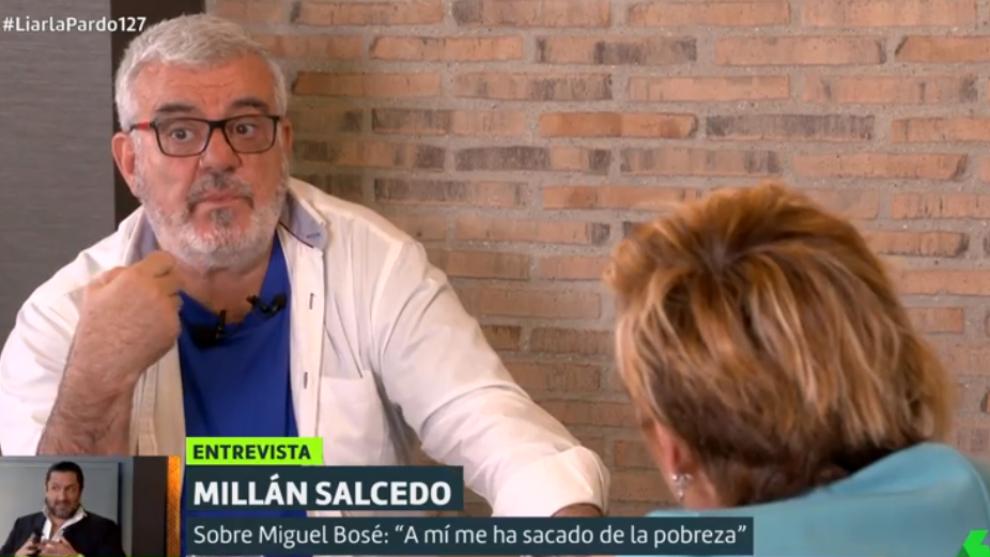 Millan Salcedo - Miguel Bose - Cristina Pardo