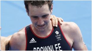 Alistair Brownlee, en los Juegos de Londres.