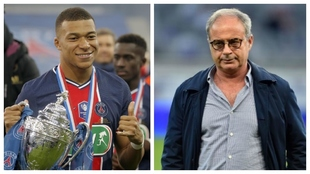 Mbappe and Luis Campos