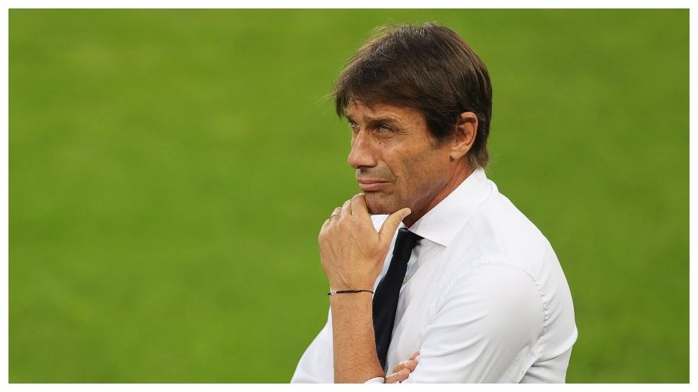 Antonio Conte rechazado por el Real Madrid.
